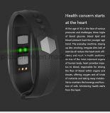 Pulsera elegante con el monitor y la presión arterial A01 del ritmo cardíaco