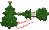 Arbre de Noël promotionnel clé USB, disque de mémoire USB