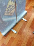 het Intrekbare Broodje van de Legering van het Aluminium van de Douane van de Premie van 85*200cm op de Tribune van de Vertoning van het Teken van de Banner
