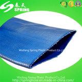 Boyau de PVC Layflat d'irrigation avec la pression