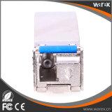 Fibre simple Tx 1270nm Rx 1330nm SFP+ d'émetteur récepteur optique de gestion de réseau de Borcade