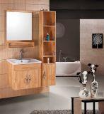 浴室の虚栄心のカシの浴室用キャビネット(W-169)