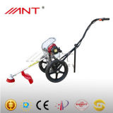 Cortador de escova Ant35 (na roda) para jardim