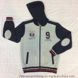 Man Grey Zipper Hood Clothing em Customize Logo Fw-8716