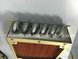 Edelstahl-Gefäß-Kupfer-Flosse-Kondensator mit Ventilator