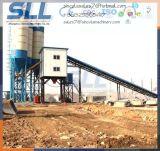 90m3 / H Construção automática de instalações de processamento de cimento de concreto