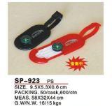 コンパス(SP-923)が付いている荷物の札