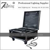La batería LED enciende la iluminación sin hilos de la decoración de 9 RGBWA+UV para los lugares del acontecimiento de la boda