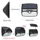 Separarse de la luz de la energía solar de 48 LED tres modos de trabajo, Sensor de movimiento al aire libre Jardín de Luz interior
