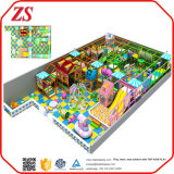 遊園地の子供、カスタマイズされたサイズの屋内運動場のための商業運動場装置