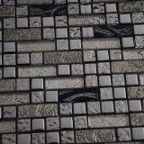 Мозаика металла стены украшения лоснистая, стеклянная плитка, итальянская плитка мозаики