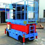 Levage mobile de ciseaux de plate-forme de travail aérien (hauteur maximum 9m)