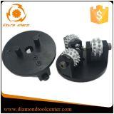 125mm Werkmaster Fußboden-reibende Diamant-Bush-Hammer-Rollen-Platte