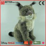 En71 het Realistische Gevulde Dierlijke Zachte Stuk speelgoed van de Lynx van de Pluche voor Jonge geitjes