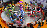 Parque de Atracciones Atracciones para niños juegos locos de la máquina de baile Profesional de Danza de la máquina para la venta
