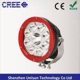 """luz de condução auxiliar do ponto do diodo emissor de luz do CREE 12V 7 """" 90W para 4X4"""