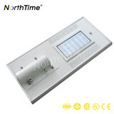 esteuertes intelligentes LED SolarstraßenlaterneTelefon 18W APP-