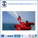 Sistema de extinción de incendios externo marino