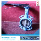 ANSI Cl150 StandaardVleugelklep bct-Wbfv-16 van het Centrum van het Wafeltje van het Handvat Hand