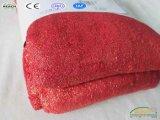 昇進のばねの秋純粋なカラー贅沢な羊毛毛布