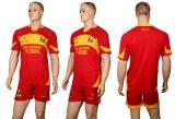 De recentste Kleding van de Sportkleding van Jerseys van de Voetbal van de Sublimatie van het Ontwerp Lege