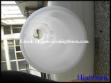 Tubo bianco latteo di vetro di silicone fuso del diametro di Manufacurer grande