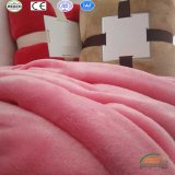 2018 Nouvelle conception des couvertures en laine polaire de corail King /Reine/taille double/chanter multi couleurs disponibles
