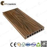 Decking di legno esterno della pavimentazione WPC della superficie di legno del grano