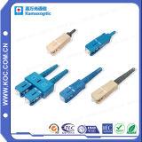Conector óptico de fibra del Sc FTTX