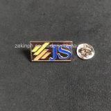 Kundenspezifisch getroffene Revers-Stiftabzeichen mit Überzug-Gold sterben