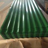 Colore preverniciato galvanizzato galvalume ondulato tuffato caldo PPGI rivestito del tetto del tetto del metallo per costruzione