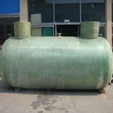 De horizontale Gebruikte Plastic Sceptische put van de Glasvezel FRP voor Behandeling van afvalwater
