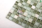 Mattonelle di mosaico di vetro di pietra utilizzate stanza da bagno fresca di colore (CS112)