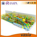 Campo de jogos macio interno usado Euipment das crianças de Plasic