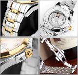 Het nieuwe Horloge Bg411 van de Manier van het Roestvrij staal van de Beweging van Japan van de Stijl Automatische