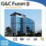 中国アルミニウム構造Framelessのガラスカーテン・ウォールの外部の建物のガラス壁