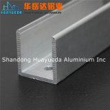 알루미늄 밀어남 6063 T5 알루미늄 U 채널 단면도