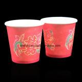 Taza de café de papel de un sólo recinto barata 2.5oz de la fuente del fabricante para beber