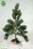 albero di Natale artificiale del PE di 0.3m per la decorazione