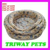 Cómodo suave terciopelo Coral perro gato WY1610112-3Camas (A/C)