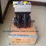 Sinotrukのトラックの予備品の空気圧縮機Vg1560130080