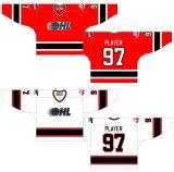 Customized Ontario Hockey League 2002-2006 Home Hóquei no Gelo Jersey