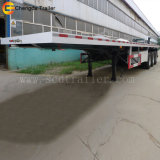 Контейнера трейлер Semi, 3 трейлер перехода контейнера Axle 40FT планшетный