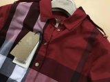 Camice lunghe di stile del plaid della tintura del filato di 100%Cotton delle donne