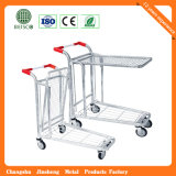Highquality (JS-TWT07)の食料雑貨Warehouse Trolley