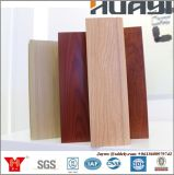 Perfil de alumínio 6.063-T5 Perfil de madeira de pintura a pó