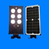 rua do diodo emissor de luz 15W/luz solares Integrated do jardim para a iluminação ao ar livre