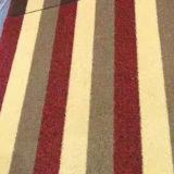Qualité respirante flétrissure tapis herbe décoratifs artificiel en intérieur en extérieur l'aménagement paysager de faux le tapis de gazon synthétique
