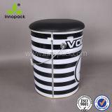 18L 20 litros Metal Tin Bucket Storage Bar Stool Chair com Black PU Leather Saddle Cover