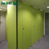 Jialifu中国カラーコンパクトの積層物は洗面所の区分にパネルをはめる